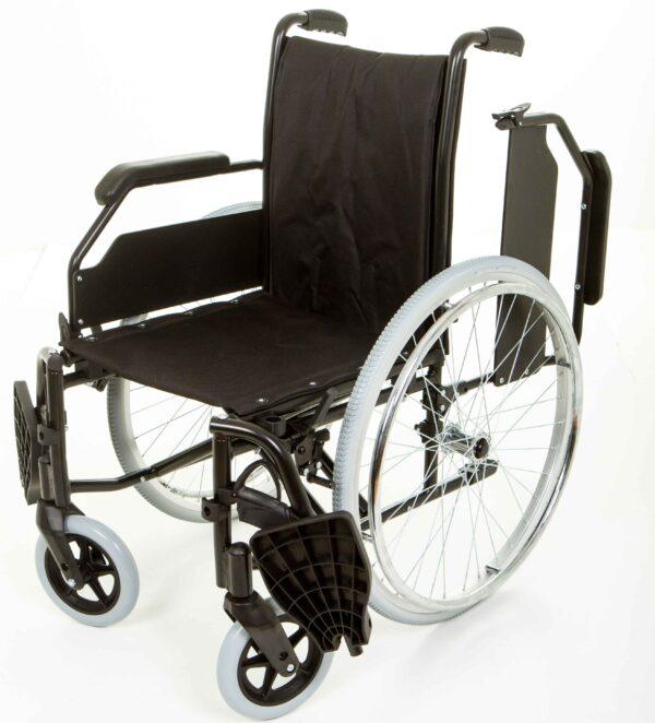 Caliba footrest outward armrest backward